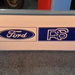 Light up Ford RS SIgn