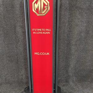 Genuine MG Dealer Light up Sign NY500