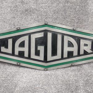 Jaguar Dealer SIgn in Hexagonal shape, NY500