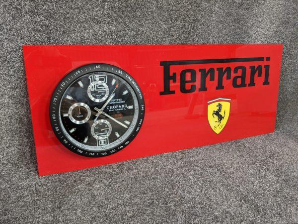 Ferrari Theme Miglia Mille 1000 Gran Turismo Wall Clock.