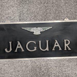 Jaguar sign dealer older genuine